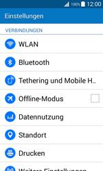 Samsung J100H Galaxy J1 - WLAN - Manuelle Konfiguration - Schritt 4
