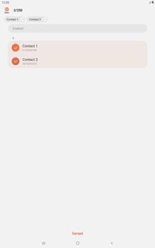 Samsung galaxy-tab-a-10-5-sm-t595-android-pie - Contacten en data - Contacten kopiëren van toestel naar SIM - Stap 10
