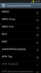 Samsung Galaxy S III - MMS - Manuelle Konfiguration - Schritt 13