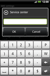 HTC A510e Wildfire S - SMS - Manual configuration - Step 8
