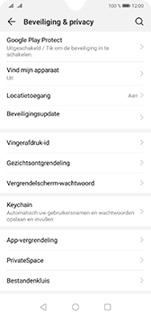 Huawei Mate 20 - Toestel - Stel Zoek mijn mobiel in - Stap 4