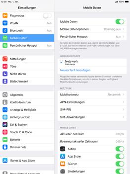 Apple iPad Pro 9.7 inch - iOS 12 - Netzwerk - Netzwerkeinstellungen ändern - Schritt 4