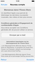 Apple iPhone 5 iOS 7 - Applications - configuration de votre store d