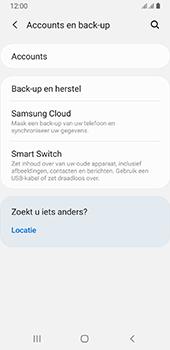Samsung galaxy-a8-2018-sm-a530f-android-pie - Instellingen aanpassen - Back-up maken in je account - Stap 5