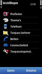 Nokia C7-00 - Voicemail - handmatig instellen - Stap 5