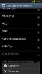 Samsung Galaxy S III - OS 4-1 JB - MMS - Manuelle Konfiguration - 15 / 19
