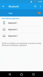 Sony Xperia M5 - Bluetooth - Koppelen met ander apparaat - Stap 6