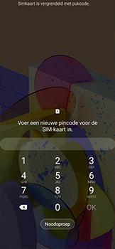Samsung galaxy-xcover-pro-sm-g715fn - Beveiliging en ouderlijk toezicht - PUK code invoeren - Stap 3