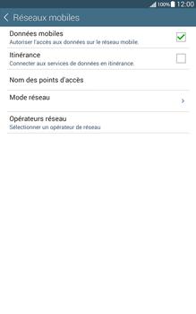 Samsung T335 Galaxy Tab 4 8-0 - Internet - Configuration manuelle - Étape 6