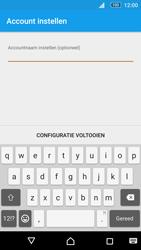 Sony E5603 Xperia M5 - E-mail - handmatig instellen (outlook) - Stap 12