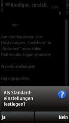 Nokia 5230 - Internet - Automatische Konfiguration - Schritt 7