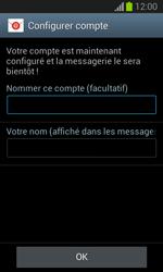 Samsung Galaxy Trend Lite - E-mail - configuration manuelle - Étape 18
