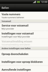 HTC A320e Desire C - Voicemail - Handmatig instellen - Stap 5