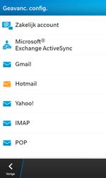 BlackBerry Z10 - E-mail - Handmatig instellen - Stap 7