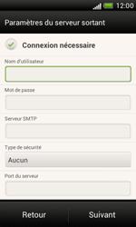 HTC T328e Desire X - E-mail - Configurer l