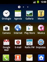 Samsung Galaxy Y - Rete - selezione manuale della rete - Fase 5