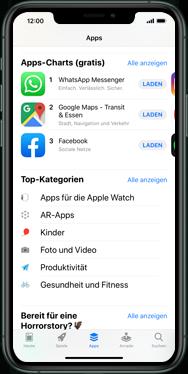 Apple iPhone XS - iOS 13 - Apps - Einrichten des App Stores - Schritt 6