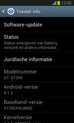 Samsung S7390 Galaxy Trend Lite - Software update - update installeren zonder PC - Stap 5