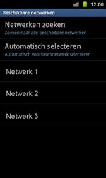 Samsung I8530 Galaxy Beam - netwerk en bereik - gebruik in binnen- en buitenland - stap 9