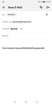 Huawei Mate 10 Pro - Android Pie - E-Mail - E-Mail versenden - Schritt 7