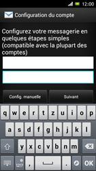 Sony Xperia J - E-mail - Configuration manuelle - Étape 6