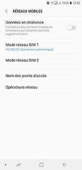 Samsung Galaxy A6 - Internet et connexion - Activer la 4G - Étape 8