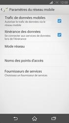 Sony Xperia Z3 Compact - Internet et roaming de données - Désactivation du roaming de données - Étape 6