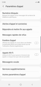 Samsung Galaxy Note10 - Messagerie vocale - configuration manuelle - Étape 7