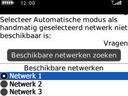 BlackBerry 8520 Curve - netwerk en bereik - gebruik in binnen- en buitenland - stap 7