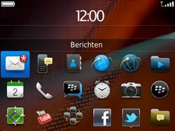 BlackBerry 9900 Bold Touch - Instellingen - ontvangen via SMS - Stap 9
