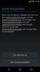 Sony Xperia T3 - Apps - Konto anlegen und einrichten - 14 / 22
