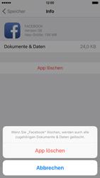 Apple iPhone 6 iOS 9 - Apps - Eine App deinstallieren - Schritt 8