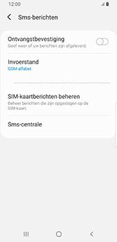 Samsung galaxy-s9-android-pie - sms - handmatig instellen - stap 10