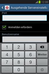 Samsung Galaxy Fame Lite - E-Mail - Manuelle Konfiguration - Schritt 15