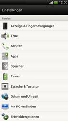 HTC Z520e One S - Fehlerbehebung - Handy zurücksetzen - Schritt 6