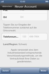 Apple iPhone 3GS - Apps - Einrichten des App Stores - Schritt 16