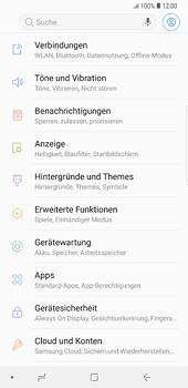 Samsung Galaxy S8 Plus - Android Oreo - Internet und Datenroaming - Manuelle Konfiguration - Schritt 4