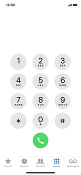 Apple iPhone XS - Messagerie vocale - Désactiver la messagerie vocale - Étape 3