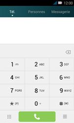 Huawei Y3 - Messagerie vocale - configuration manuelle - Étape 4
