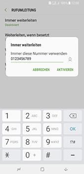 Samsung Galaxy A8 Plus (2018) - Anrufe - Rufumleitungen setzen und löschen - Schritt 11