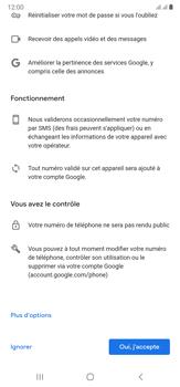 Samsung Galaxy Note20 Ultra 5G - Applications - Créer un compte - Étape 14
