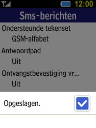Samsung Xcover 550 (SM-B550H) - SMS - Handmatig instellen - Stap 8