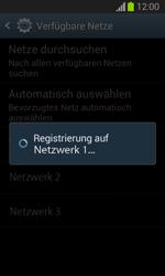Samsung Galaxy Trend Lite - Netzwerk - Manuelle Netzwerkwahl - Schritt 9