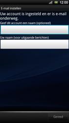 Sony Xperia Ray - E-mail - Handmatig instellen - Stap 10