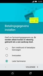 HTC One M9 - apps - account instellen - stap 16