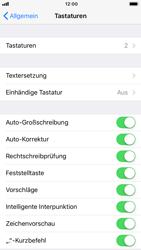 Apple iPhone 7 - iOS 11 - Einhand-Tastatur - 5 / 11