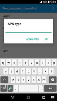 Sony Xperia Z5 Premium (E6853) - Android Nougat - MMS - Handmatig instellen - Stap 13