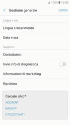 Samsung Galaxy A5 (2017) - Dispositivo - Ripristino delle impostazioni originali - Fase 6