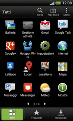 HTC Desire X - Software - Installazione degli aggiornamenti software - Fase 5