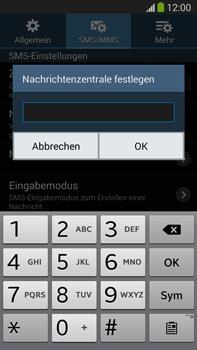 Samsung Galaxy Note 3 LTE - SMS - Manuelle Konfiguration - 8 / 10